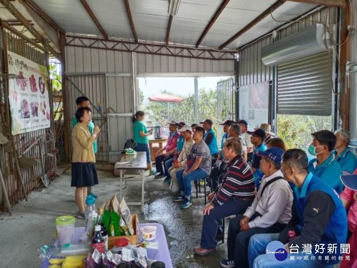大安區35位青年跨區域參訪 吸取農業種植技術經營理念