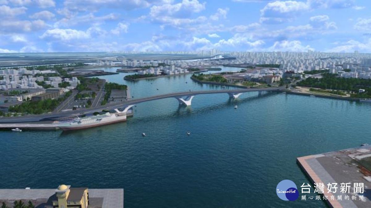 台南安平漁港跨港大橋 預計今年發包興建