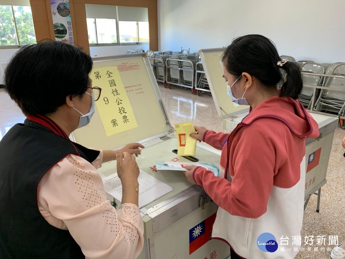 新住民公投投票模擬教學 選務工作人員招募