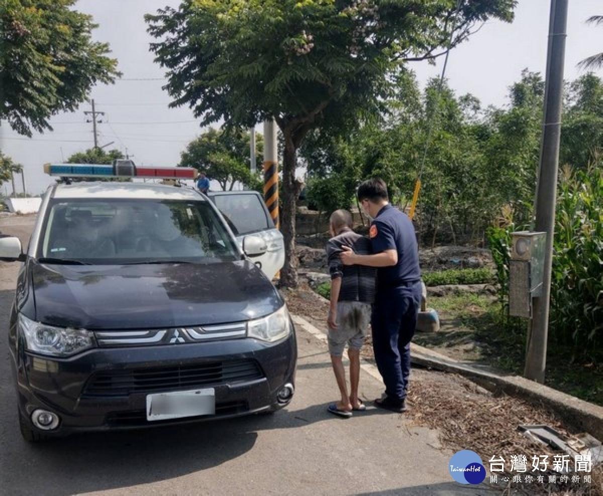 長照中心老翁走失 北港警緊急動員平安尋回