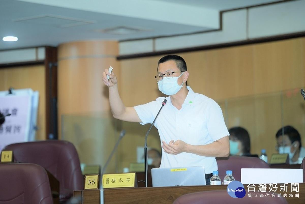 關切大勇國小用地取得 桃議員蔡永芳:增設校舍改善教學環境
