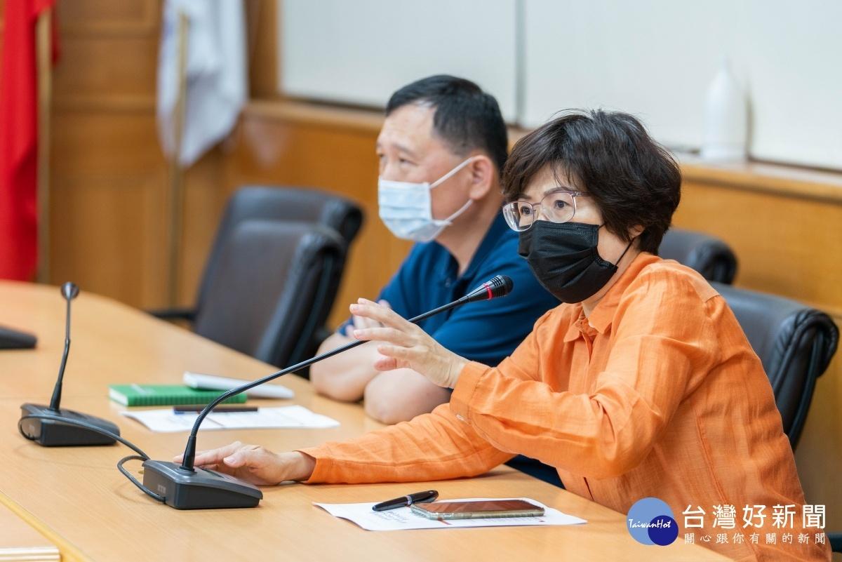 台東防疫升級  饒慶鈴呼籲民眾戴口罩、保持社交距離