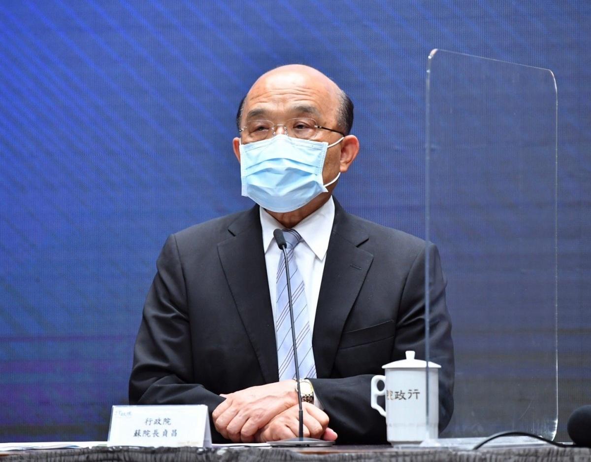 3+11補充報告 蘇貞昌道歉但強調「沒有證據是疫情破口」