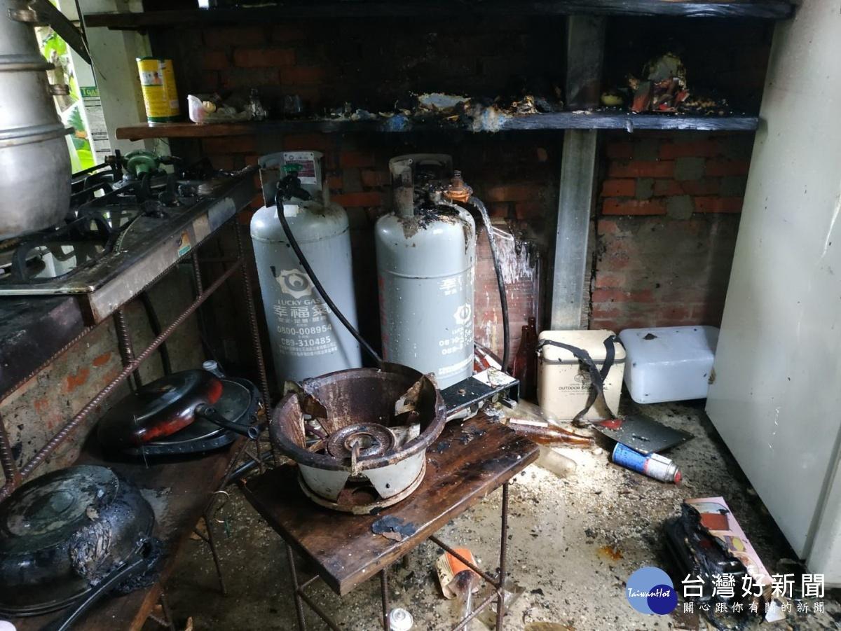 預防「瓦斯外洩」釀成災 台東消防局提醒廚房煮食要注意