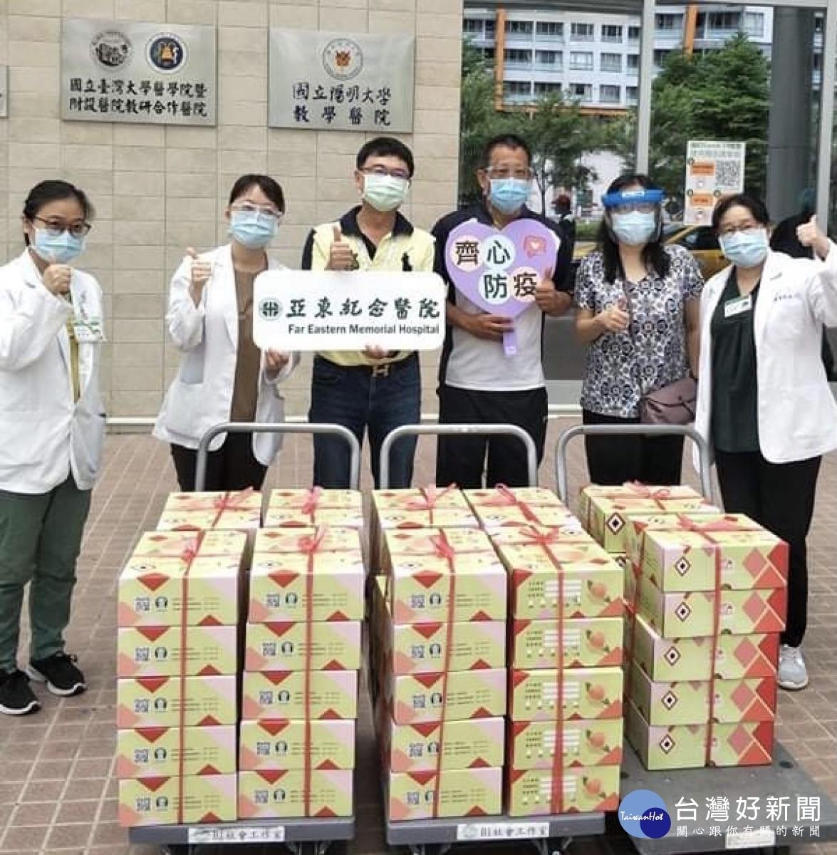 中原資管系發起認購拉拉山水蜜桃 「疫起挺醫護、助小農」