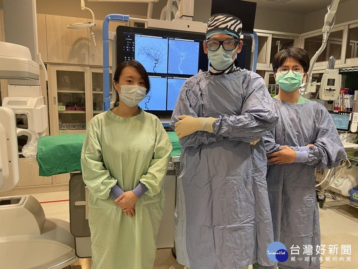 雙向數位血管X光機成功取栓 順利搶救87歲腦中風病患