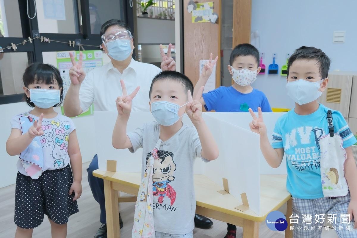落實防疫照護安全 竹縣幼兒園有條件復課