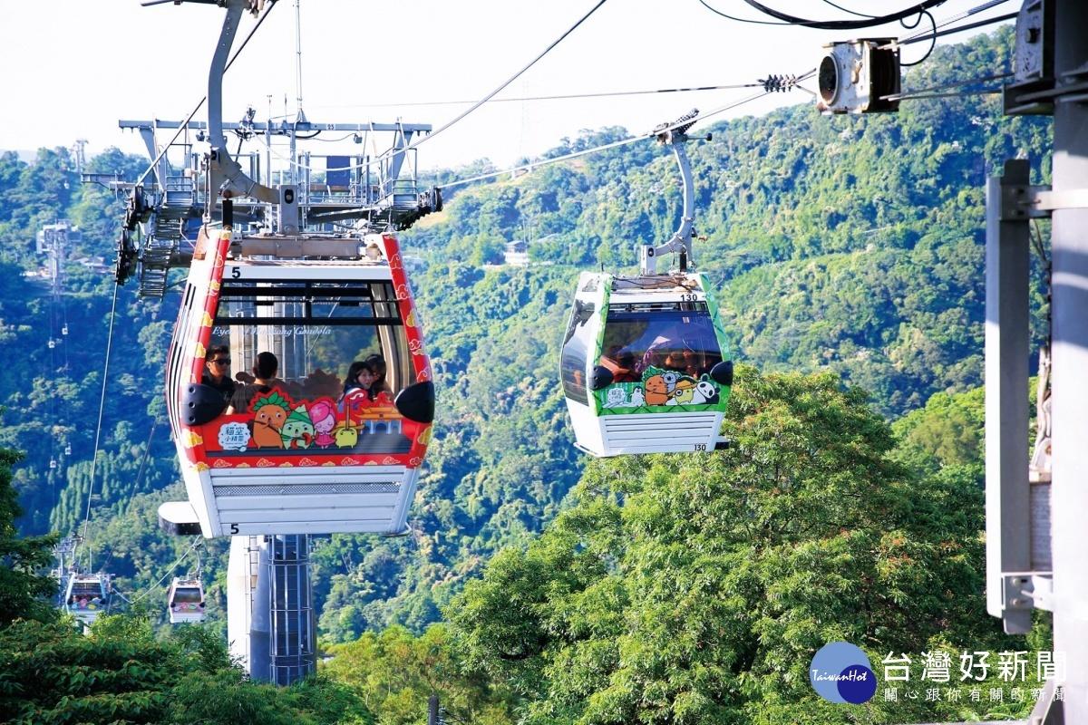 8月1日起 動物園、貓空纜車開放迎客