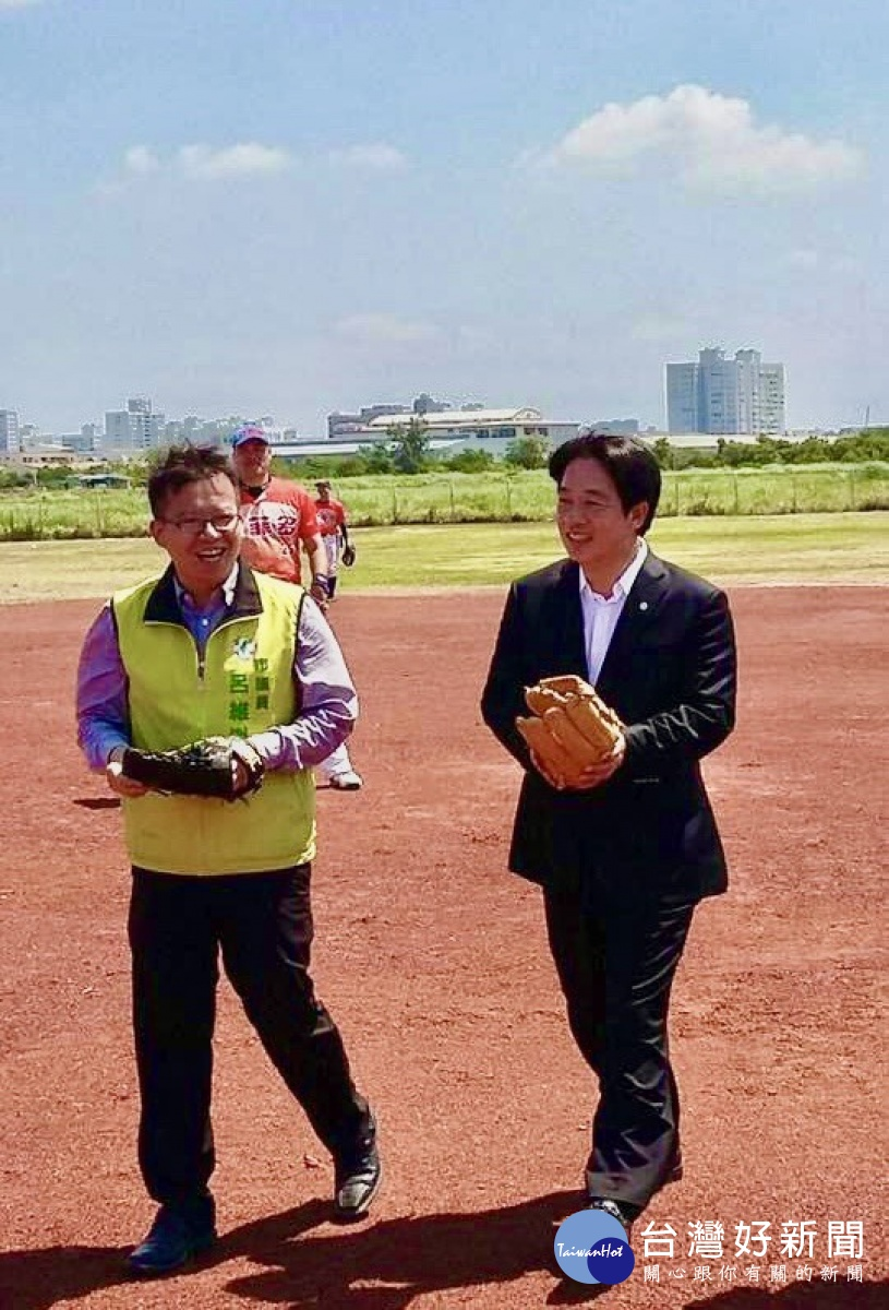 『賴神』不重視台南體育? 子弟兵呂維胤大抱不平