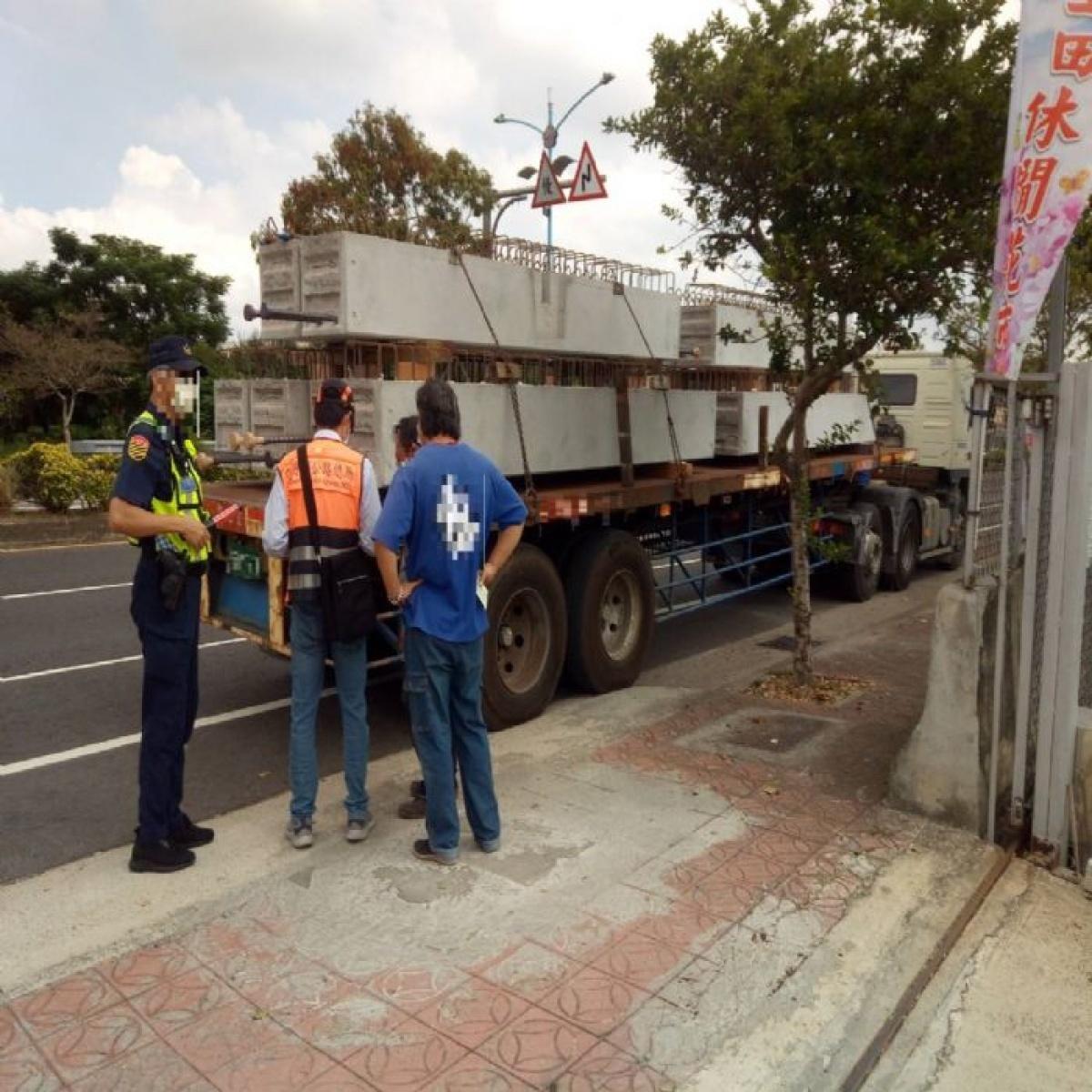 護運輸營運秩序 查獲自用貨車違規營業處重罰