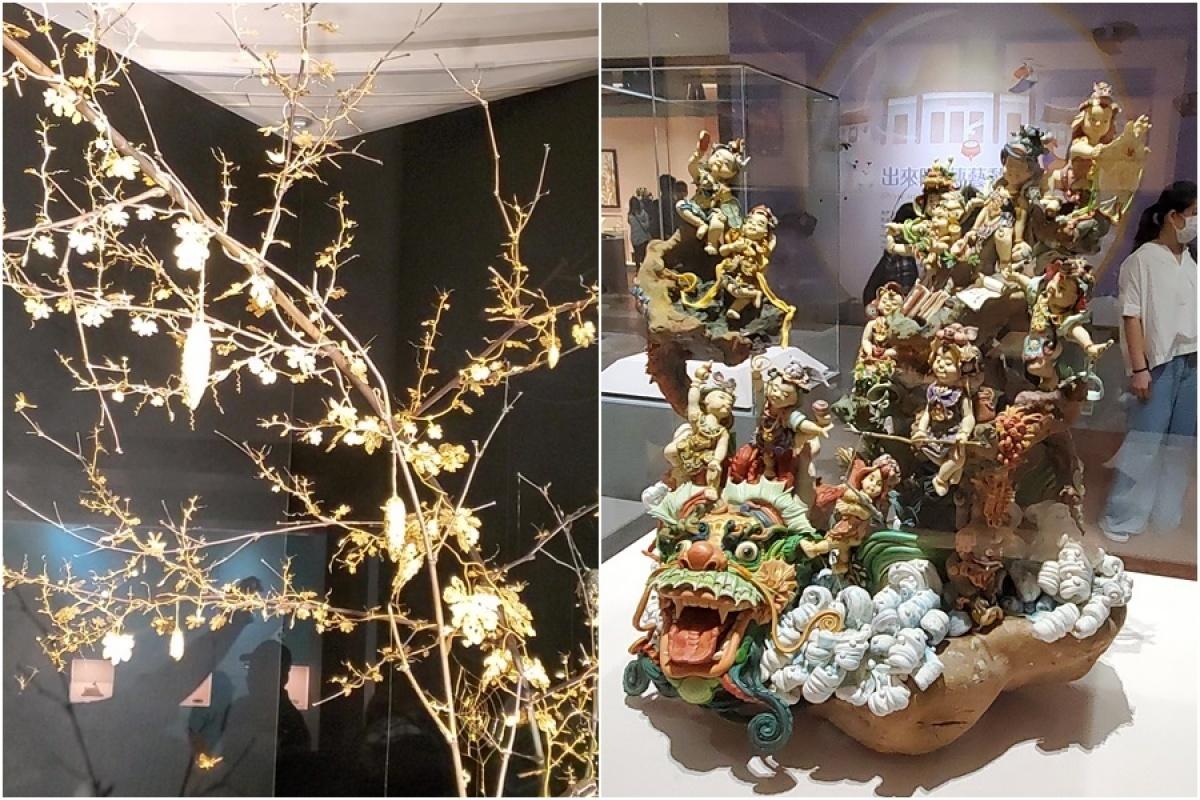 「傳藝動物園」開展 傳統藝術文物大開眼界