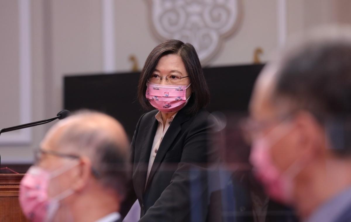 蔡英文投書《外交事務》雙月刊 稱台灣受脅將竭盡全力捍衛自己