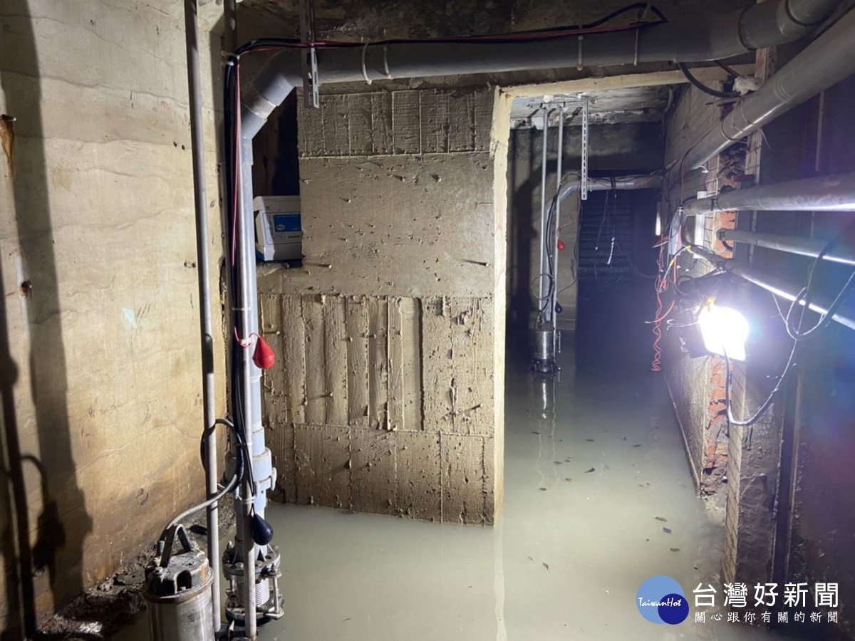 防洪大絕招 北市第一座廢棄地下道變身滯洪池